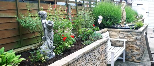 White Gables Suffolk Felixstowe residential care home dementia garden
