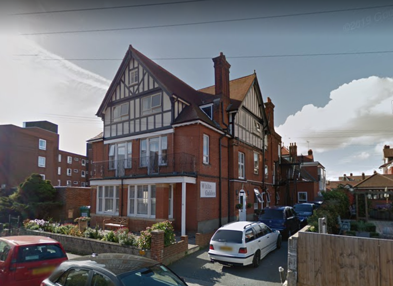 White Gables Suffolk Felixstowe residential care home dementia