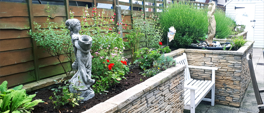 White Gables Suffolk Felixstowe residential care home dementia garden